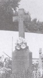 Cintorínsky kríž v Blažove